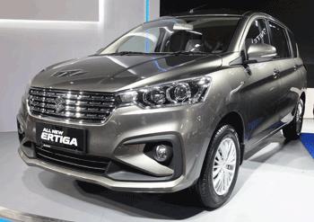 Harga Suzuki Ertiga Pekanbaru 2019